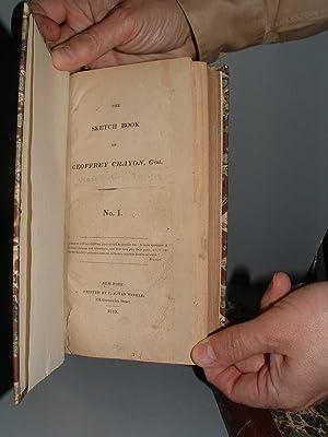 The Sketch Book of Geoffrey Crayon, Gent. : No. I[-VII].: Irving, Washington.