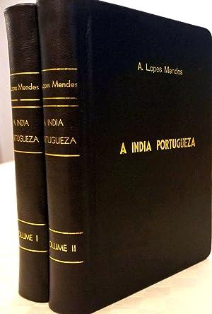 Índia Portugueza 2 Volumes: Matta, Caeiro