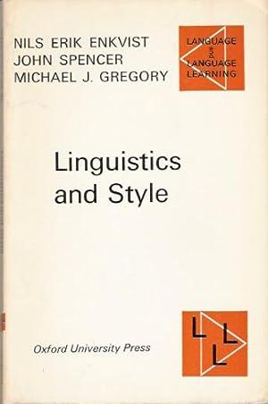 Linguistics and Style: Enkvist, Nils Erik;