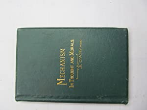 Mechanism in Thought and Morals: Oliver Wendell Holmes