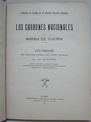 Los carbones nacionales y la marina de guerra: DE ADARO, L.