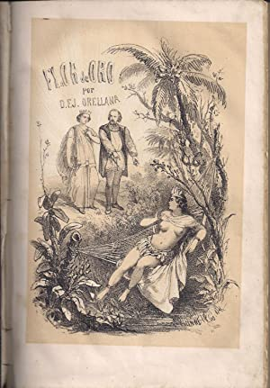 Flor de oro. Anacaona Reina de Jaragua. Segunda parte de Cristobal Colon: ORELLANA, FRANCISCO J.