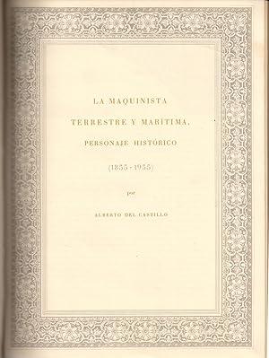La maquinista terrestre y maritima, personaje histórico: DEL CASTILLO, ALBERTO