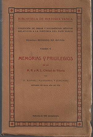 Memorias y privilegios de la M.N. y: FLORANES Y ENCINAS,