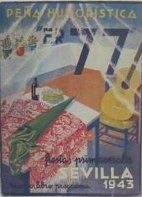 Peña humoristica ER 77. Fiestas primaverales Sevilla 1943: null