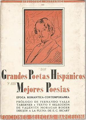 Los grandes poetas hispánicos y sus mejores: MORAGAS ROGER, VALENTIN(