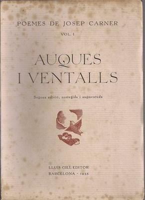 Auques i ventalls. Poemes de Josep Carner: CARNER, JOSEP