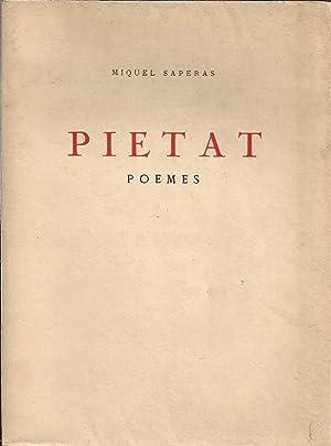 Pietat. Poemes: SAPERAS, MIQUEL