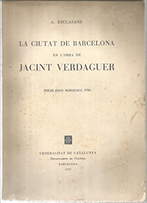 La ciutat de Barcelona en l obra: ESCLASANS, A.