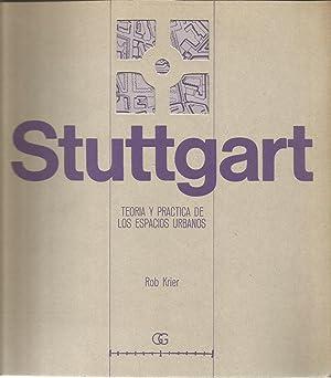 Stuttgart teoria y practica de los espacios urbanos: KRIER, ROB