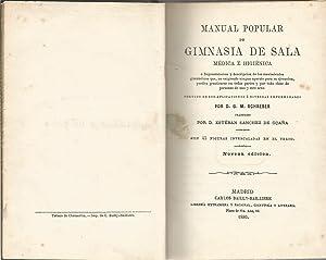 Manual popular de gimnasia de sala médica e higiénica: SCHREBER, D.G.M.