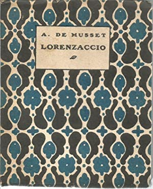 Lorenzaccio: DE MUSSET, A.