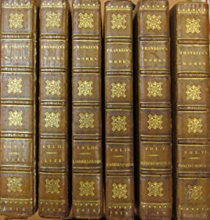 Memoirs of the life and writings of: FRANKLIN, BENJAMIN- TEMPLE