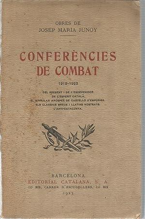 Conferències de combat 1919-1923: JUNOY, JOSEP MARIA