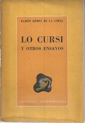 Lo cursi y otros ensayos: GOMEZ DE LA