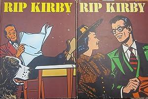 Rip Kirby 4 tomos. Heroes del comic: DE ARAMBURU, JAVIER( director)