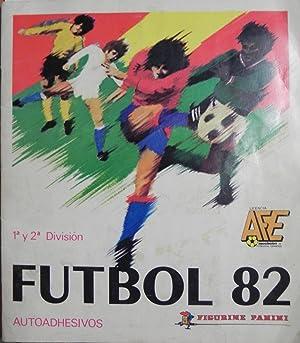 1ª y 2ª división Futbol 82. Autoadhesivos.