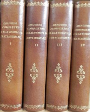 Oeuvres completes de M. Le Vicomte de: CHATEAUBRIAND