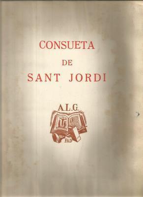 Consueta de Sant Jordi. Miracle catala del segle XIV: MARTORELL, ORIOL ( nota preliminar de)