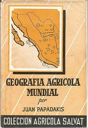Geografia agricola Mundial: PAPADAKIS, JUAN