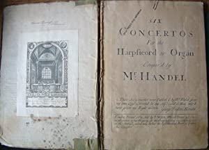 Six Concertos for the Harpsicord or Organ