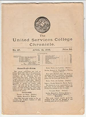 The United Services College Chronicle