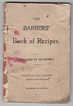 The Barbers' Book of Recipes