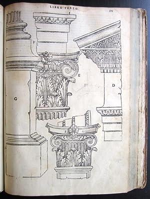 Libro Primo [Secondo, Terzo, Regole Generale, Quinto] d'Architettura: Serlio, Sebastiano (1475...