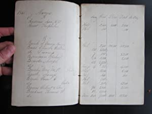 Assessment Book, Town of Goshen: manuscript; ledger]; Webbs, J. W.