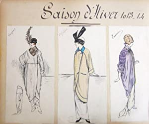 Detrois et Cie, Saison d'Hiver, Saison d'Ete : Scrapbook Album of Original Costume and ...