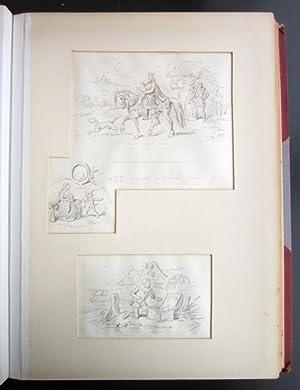 "An Album of Twenty-Five Original Drawings by Hablot K. Browne (""Phiz""): BROWNE, Hablot ..."