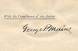 Francis Asbury: Mains, George P.; Goodsell, Bishop Daniel A. (intro.)
