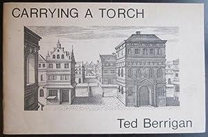 Carrying a Torch [Clown War 22]: Berrigan, Ted; de Vries, Jan Vredeman (engravings)
