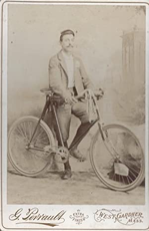 Collection of Late-19th and Early-20th Century Photographs of Bicycles: bicycles; cycling]; [...