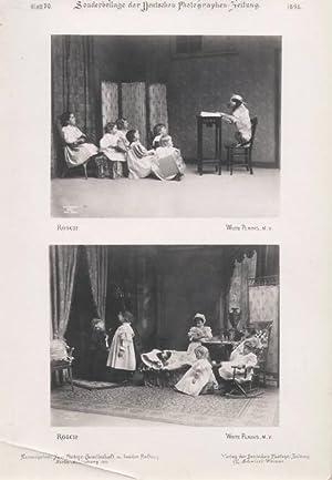 Internationale Musterblätter von Portrait-Aufnahmen, Sonderbeilage der Deutschen Photographen ...