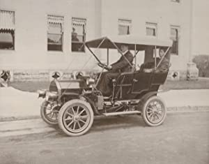 Group of photographs and ephemera relating to automotive pioneer George Baldwin Selden: automobiles...