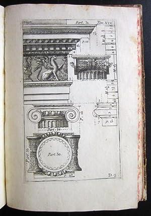 L'Architettura di Jacopo Barozzi di Vignola, ridotta a facile metodo per mezzo di osservazioni a ...