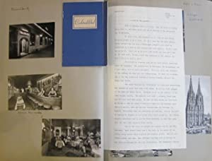 Photo Albums and Scrapbooks from an American: scrapbook album; travelogue];
