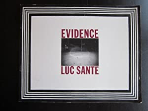 Luc Sante: Evidence: Sante, Luc