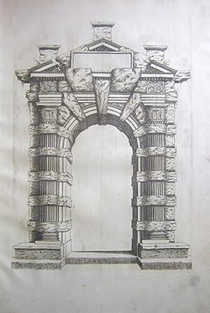 Extraordinario libro di Architettura di Sebastiano Serlio, Architetti del re Christianissimo: Nel ...