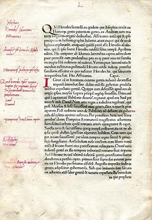 Historia Ecclesiastica: EUSEBIUS, Bishop of Caesarea (c. 260-340)