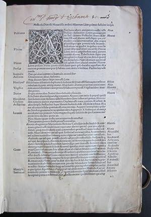 Vocabularius, et al.: NESTOR, Dionysius (fl. c. 1450)