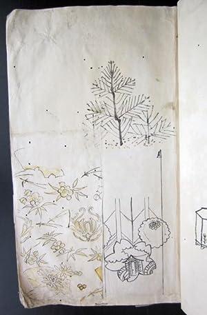 Kimono Designs: Japanese Manuscript]
