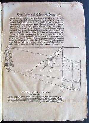 Le Due Regole della Prospettiva Prattica.: Barozzi, Giacomo; [Vignola (1507-1573)]