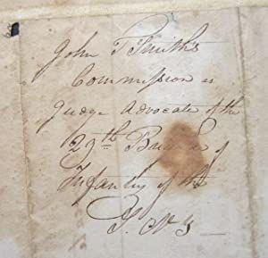 Document Signed by DeWitt Clinton: Clinton, DeWitt]