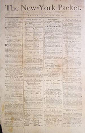 The New-York Packet. Tuesday, November 17, 1789. No. 987: newspaper]