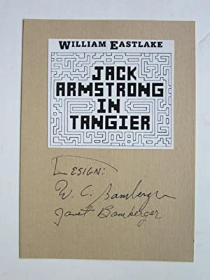 Jack Armstrong In Tangier: Eastlake, William
