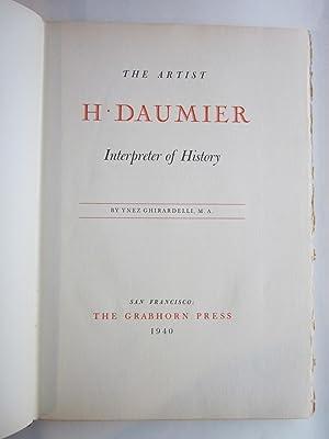 The Artist H. Daumier, Interpreter of History: Ghirardelli, Ynez
