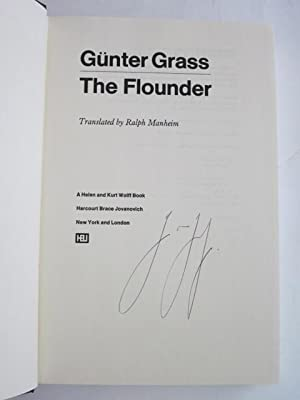 The Flounder: Grass, Gunter; Manheim, Ralph (Trans.)