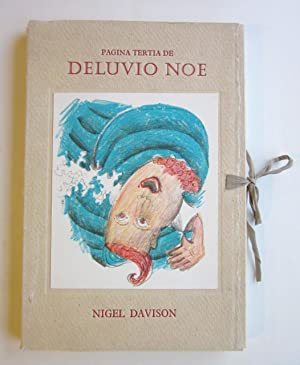 The Waterleaders & Drawers in dee Pagina Tertia de Deluvio Noe: Davison, Nigel (lithographs)